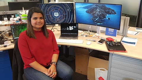 From computer game fan to cyber security lead – meet Tara